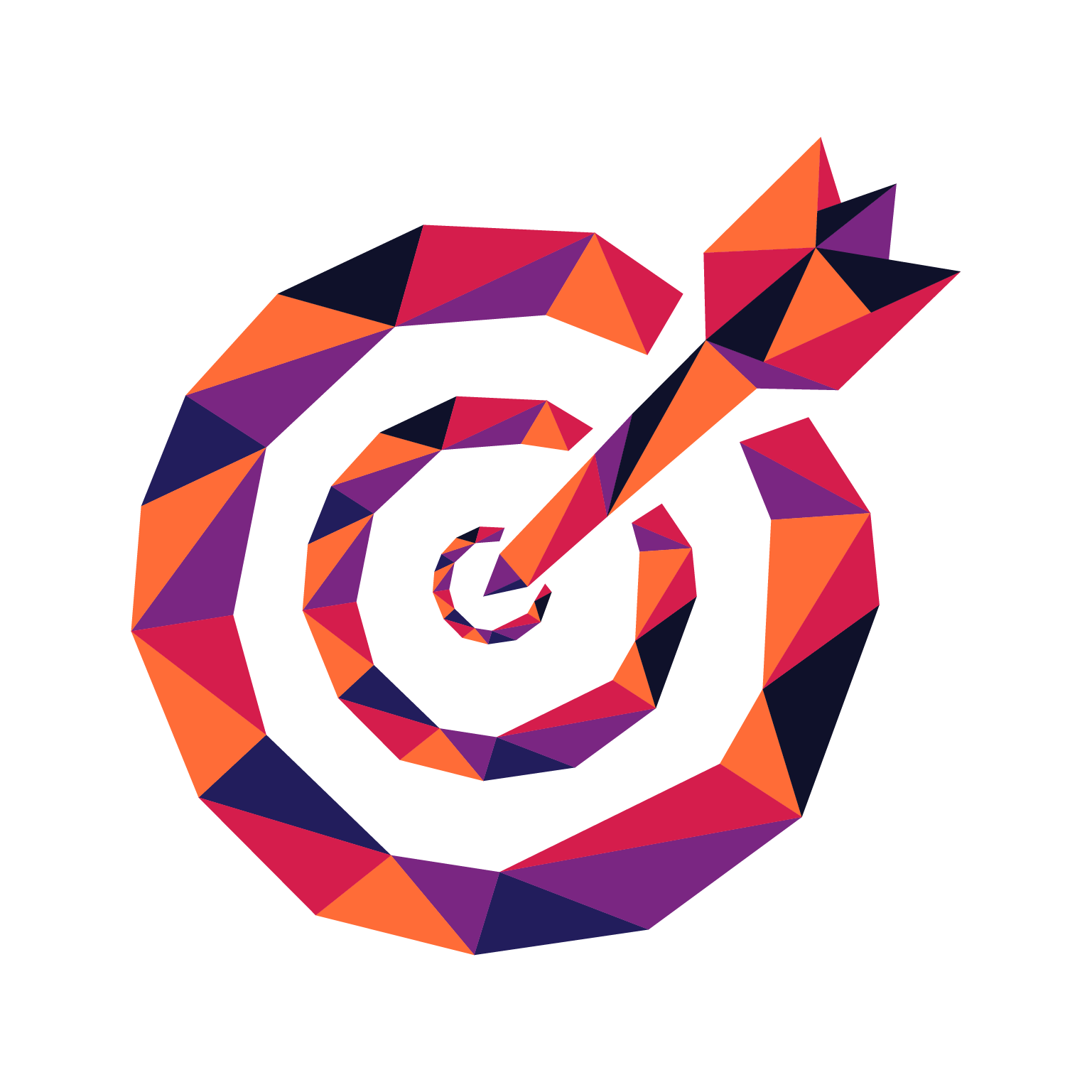 Manta Creative Positioning Icon - Targeted
